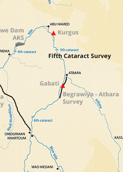 The Sudan Archaeological Research Society  Fieldwork  Fifth Cataract